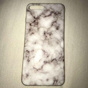 Accessories - iphone 7+/8 plus marble case